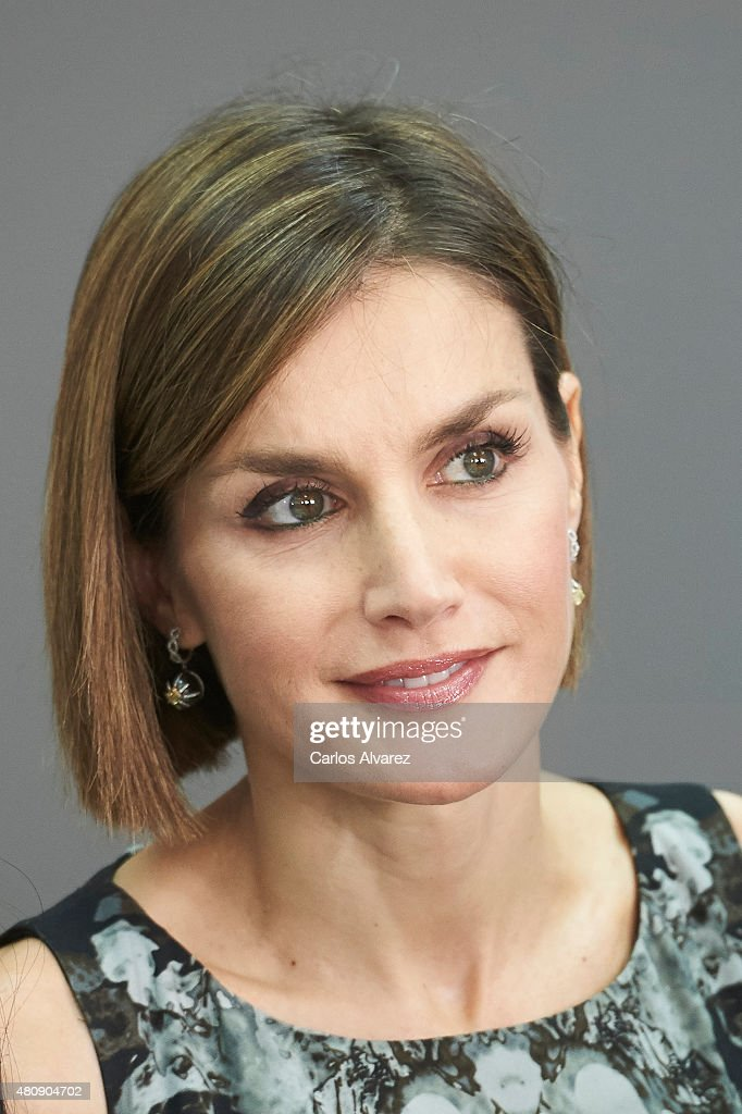 Queen Letizia of Spain Inaugurates The Summer Courses of 'International School of Music' of Princesa de Asturias Foundation : News Photo
