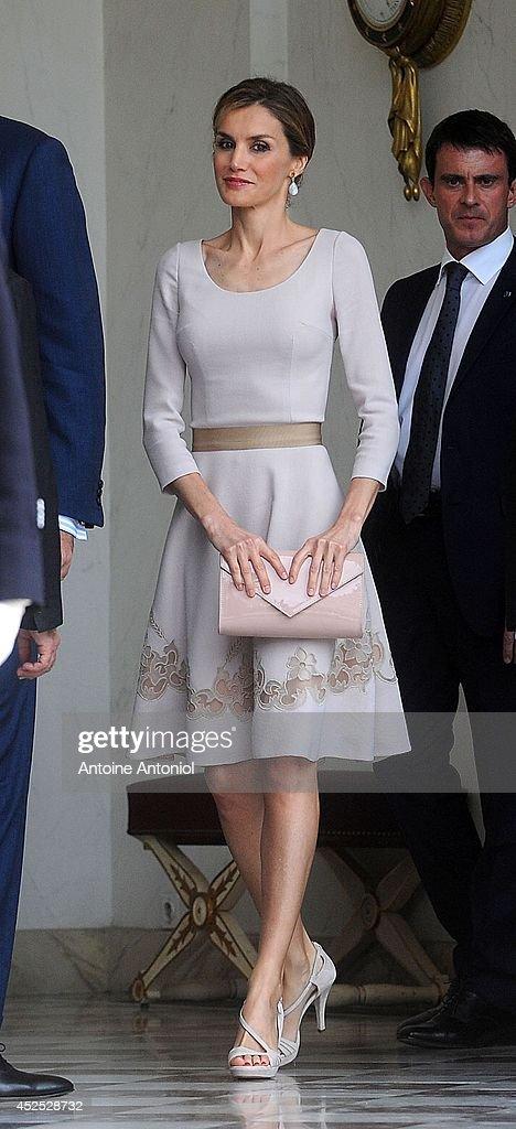 King Felipe VI Of Spain On Official Visit In France : News Photo