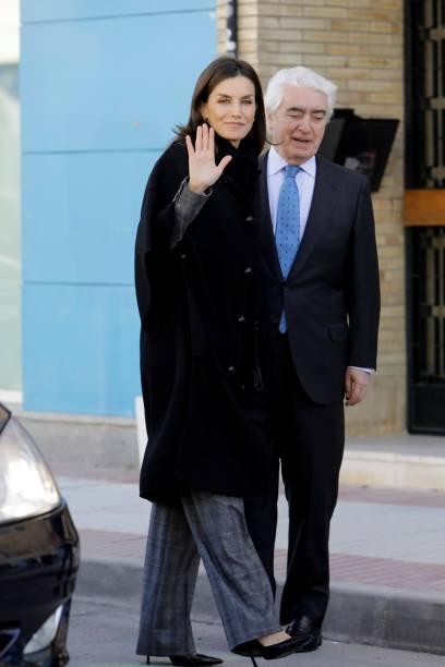 ESP: Queen Letizia Of Spain Attends UNICEF Meeting