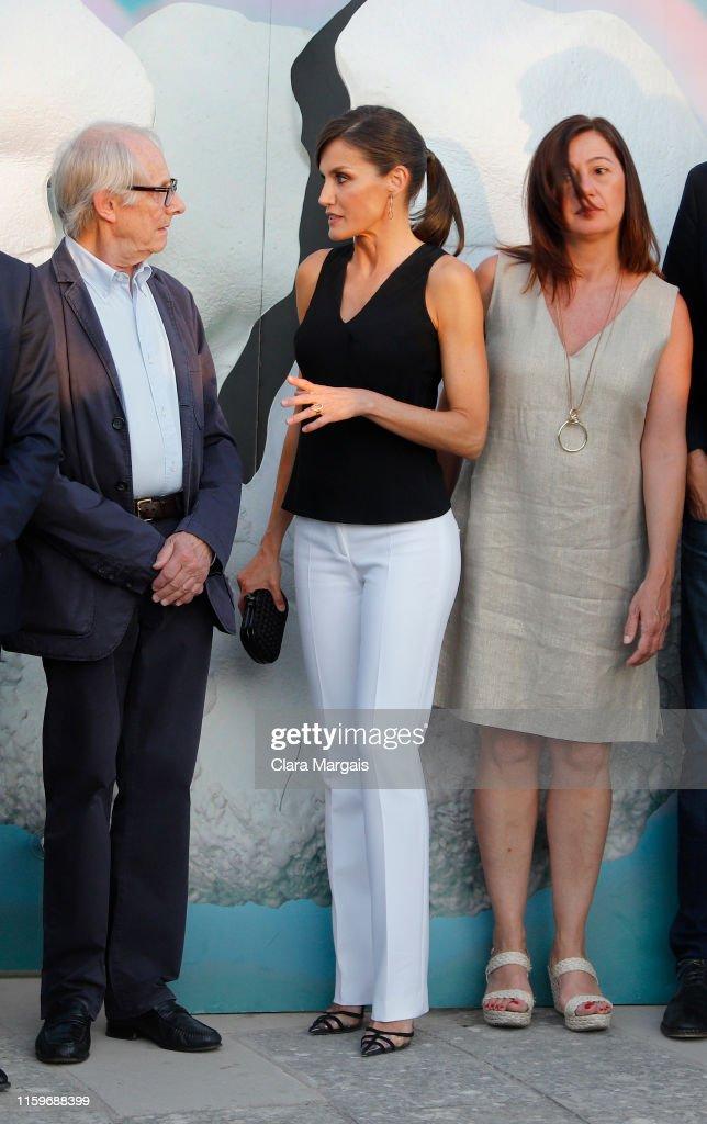 Queen Letizia of Spain Attends Atlantida Film Fest Opening In Palma De Mallorca : News Photo