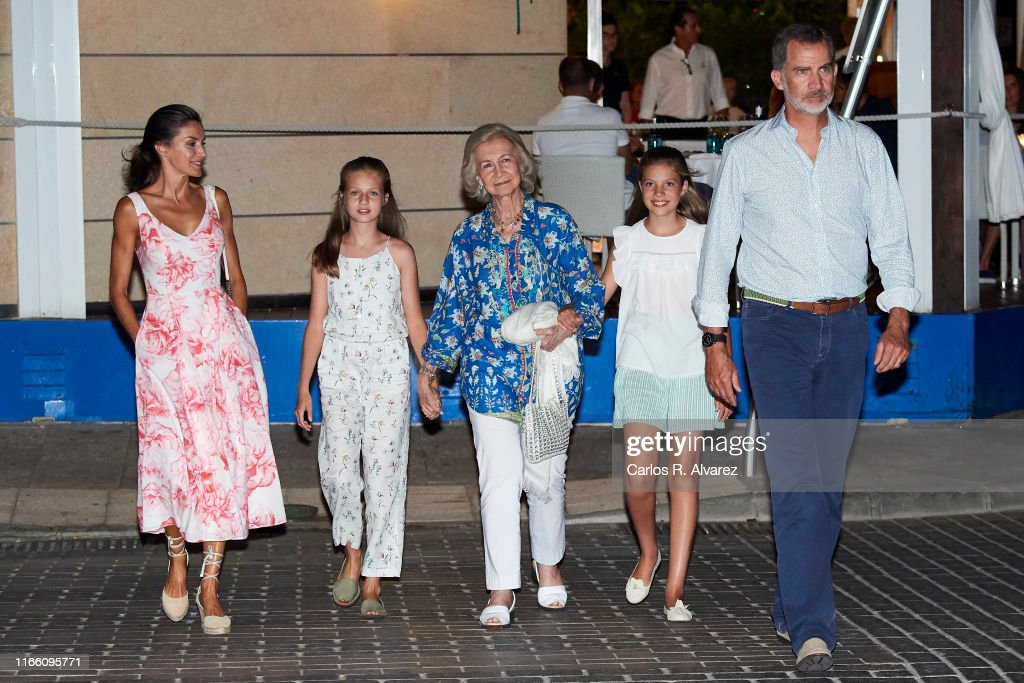 Spanish Royals Sighting In Mallorca : Nachrichtenfoto