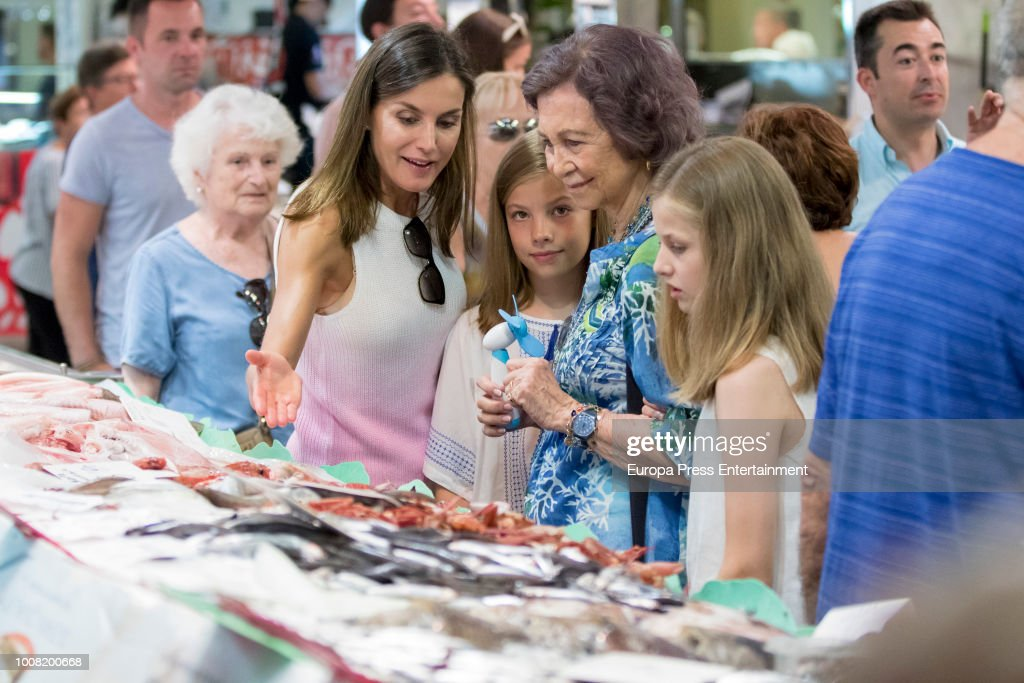 Spanish Royals Sighting In Mallorca - July 31, 2018 : News Photo