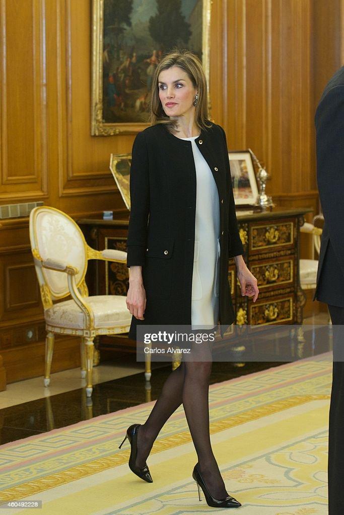 Spanish Royals Receives Academia De Las Artes Y Las Ciencias Cinematogrficas de Espana : News Photo