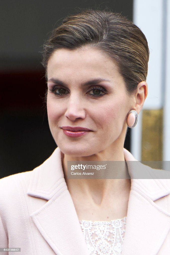 Official Lunch Of Spanish Royals And President Mauricio Macri And His Wife : News Photo