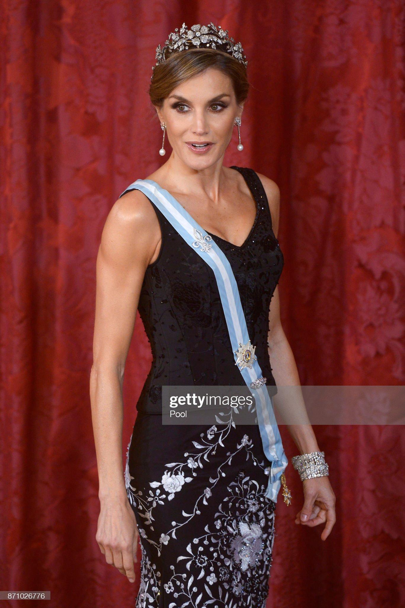 Spanish Royals Host Official Dinner For Israel President : News Photo