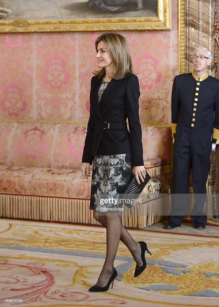 "Spanish Royals Receives ""Principe De Girona"" Foundation : News Photo"