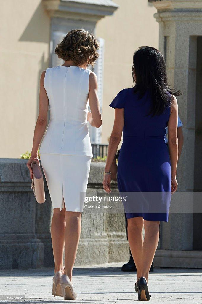 Spanish Royals Meet President of Peru