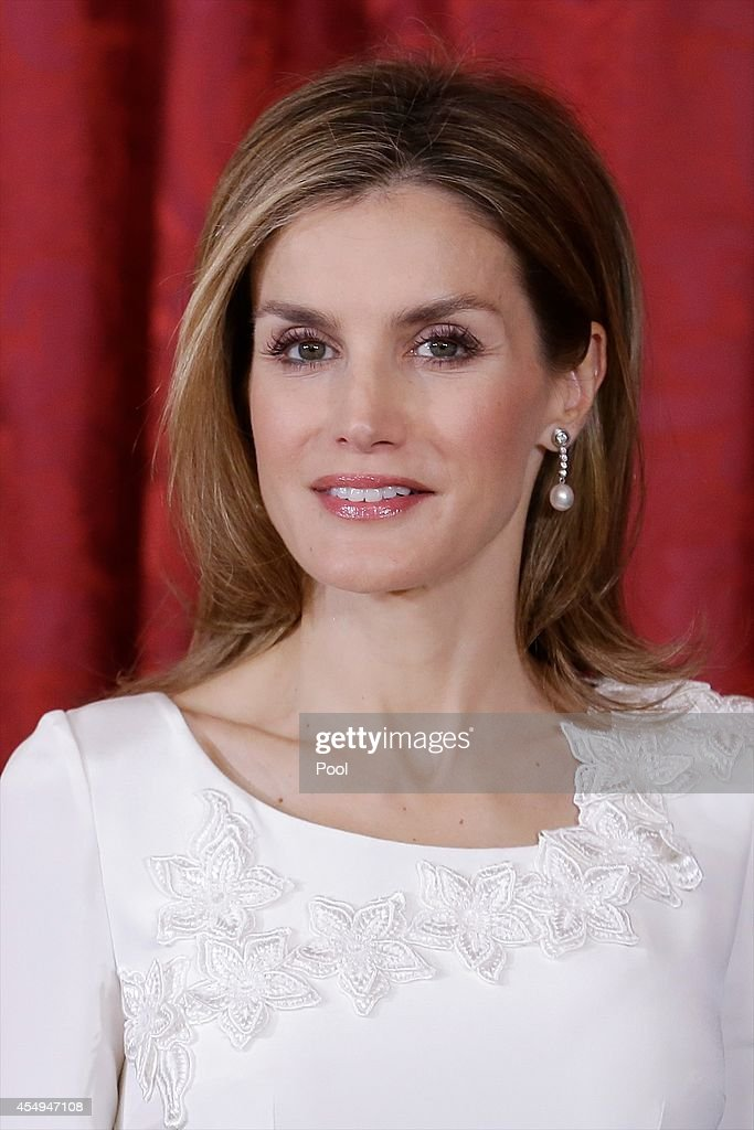 Spanish Royals Meet President of Panama and His Wife : News Photo