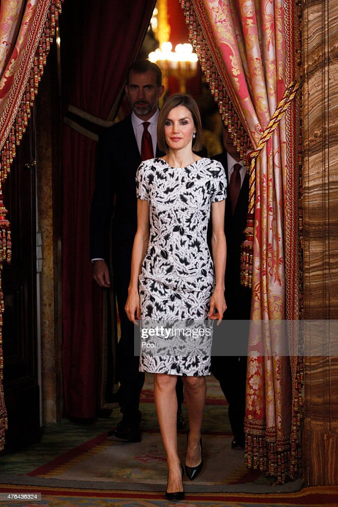 Spanish Royals Host a Lunch for President of Paraguay : News Photo
