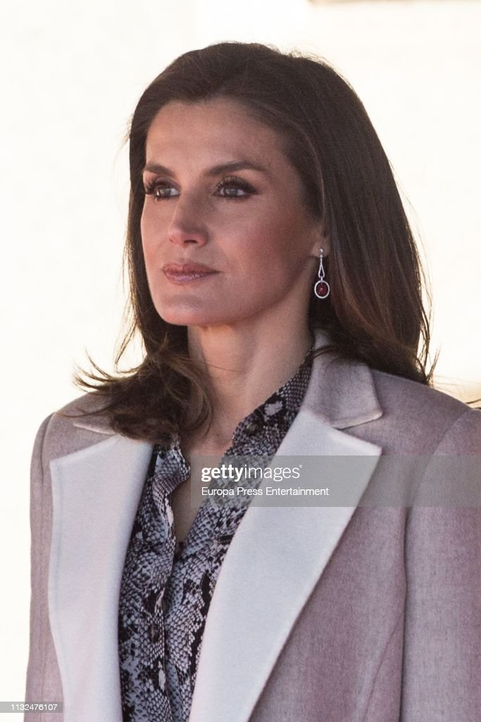 Spanish Royals Receive President Of Peru : News Photo