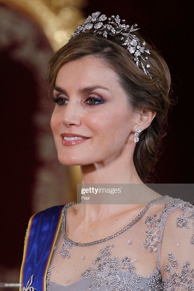 Spanish Royals Host a Dinner for The Colombian President : News Photo