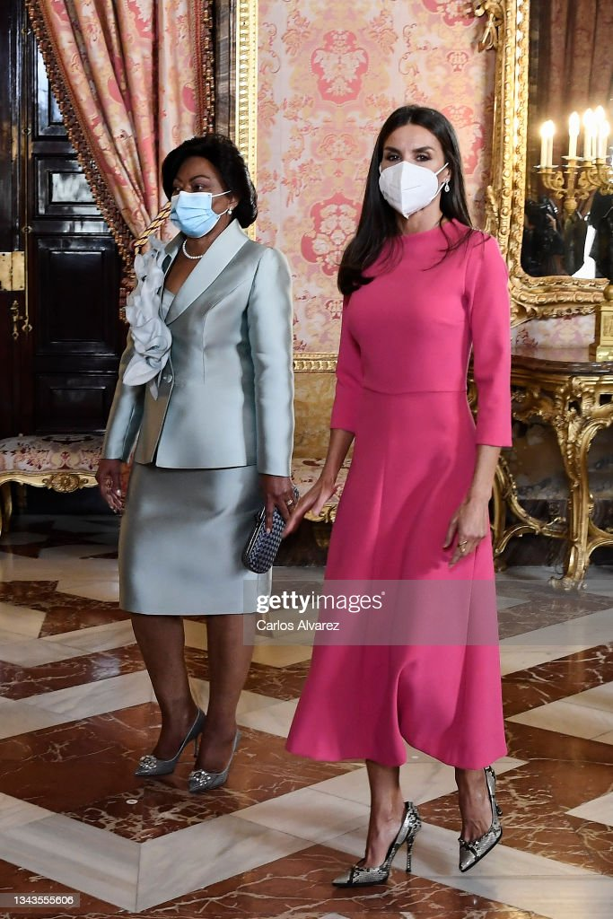 Spanish Royals Host A Lunch With The President Of Angola : News Photo