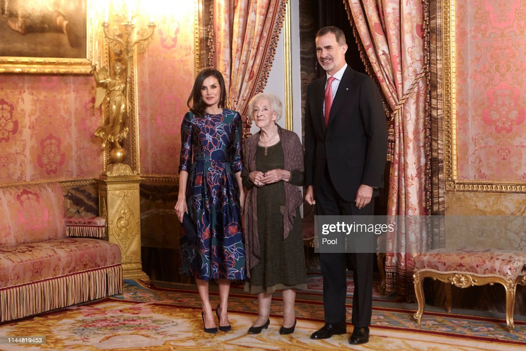 ESP: Spanish Royals Host A Lunch For Literature World Members