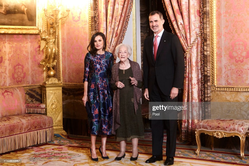 Spanish Royals Host A Lunch For Literature World Members : News Photo