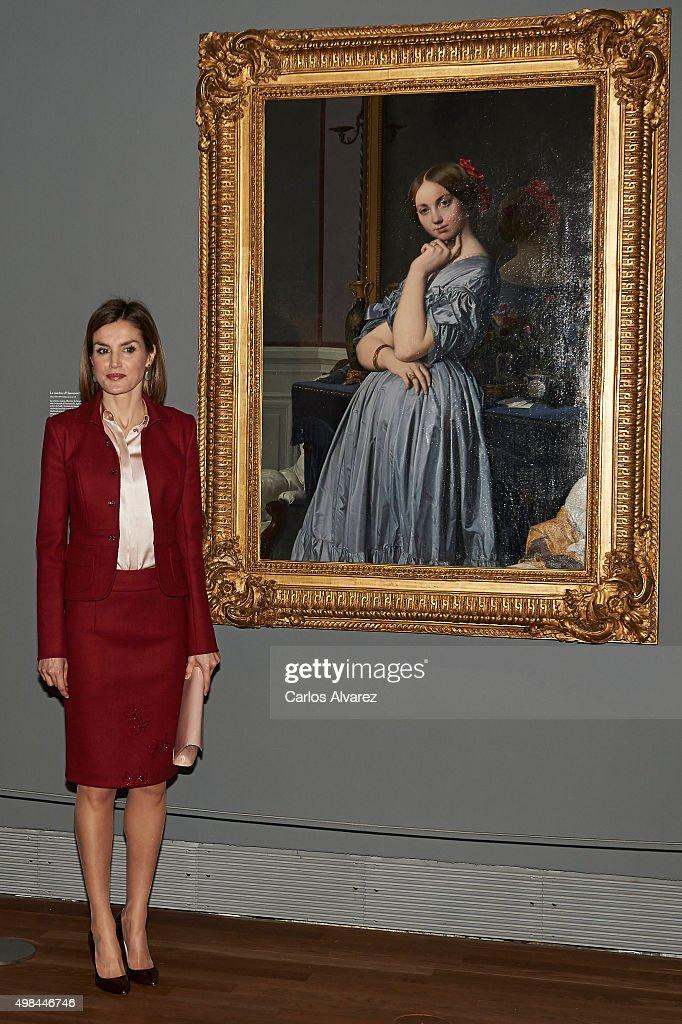 Queen Letizia of Spain Visit Prado Museum : News Photo