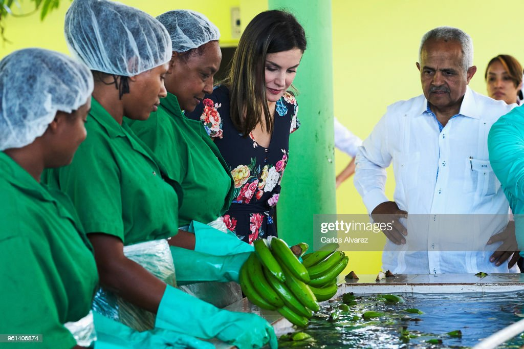 Day 3- Queen Letizia's Third Cooperation Trip To Dominican Republic And Haiti