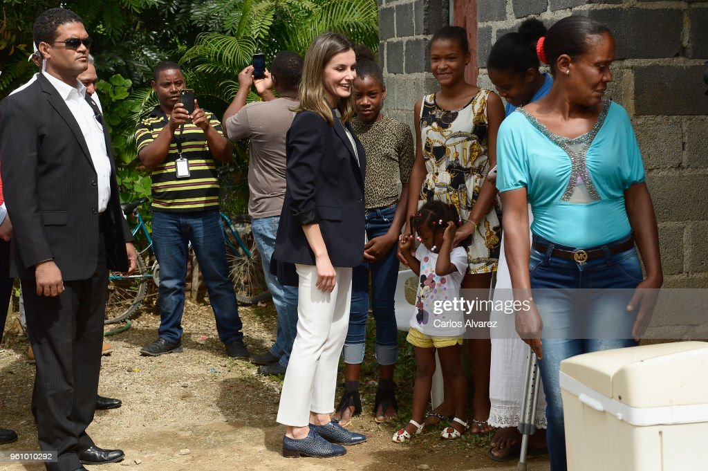 Queen Letizia's Third Cooperation Trip To Dominican Republic And Haiti