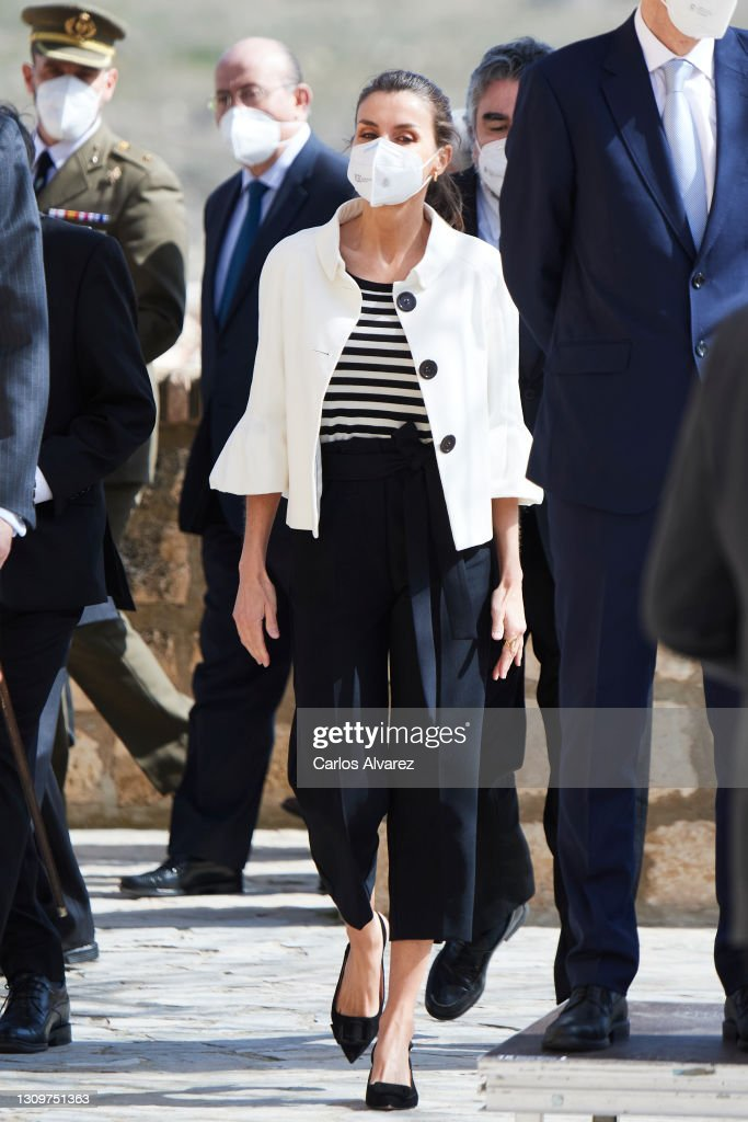 Spanish Royals Attend A Commemorative Event On The Occasion Of The 275th Anniversary Of Goya's Birthday : News Photo