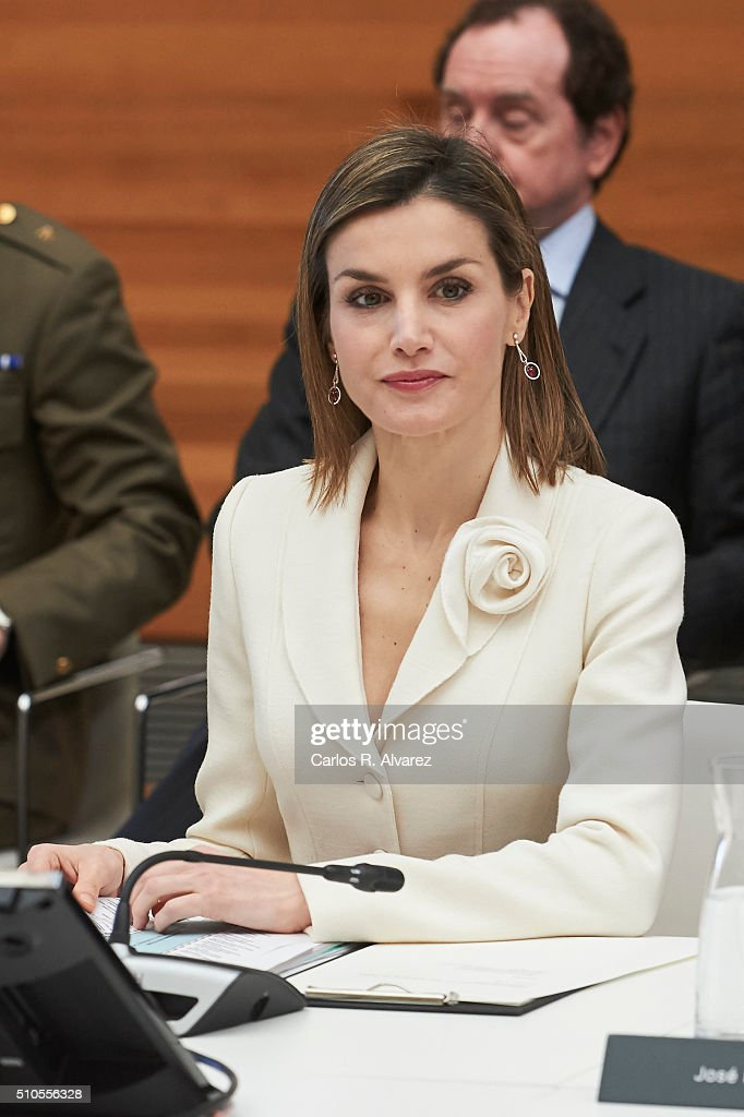 Spanish Royals Visit The Prado Museum : News Photo