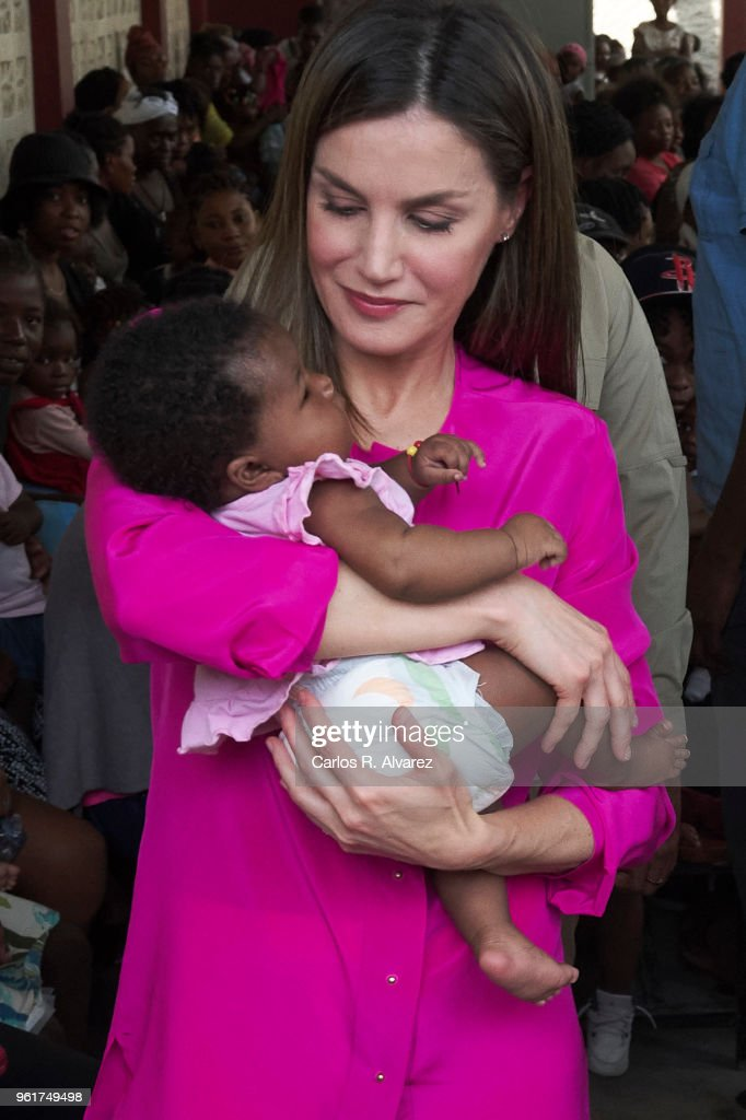 Day 4- Queen Letizia's Third Cooperation Trip To Dominican Republic And Haiti : News Photo