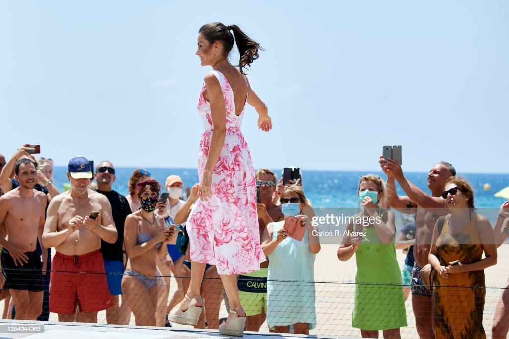 Spanish Royal Tour - Benidorm : News Photo
