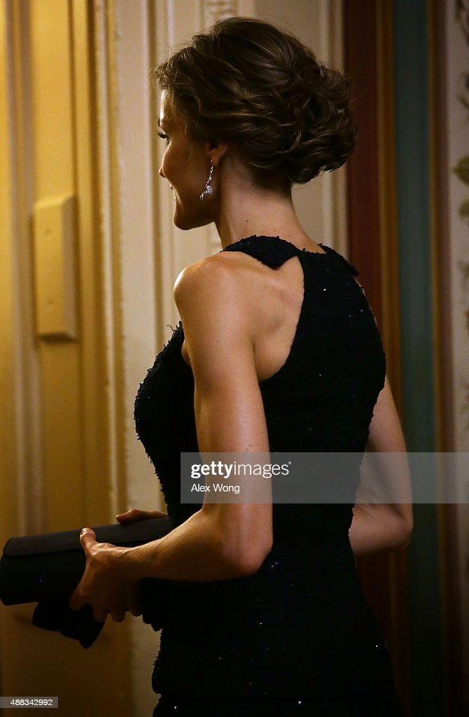 King Felipe And Queen Letizia Meet With Lawmakers On Capitol Hill : News Photo