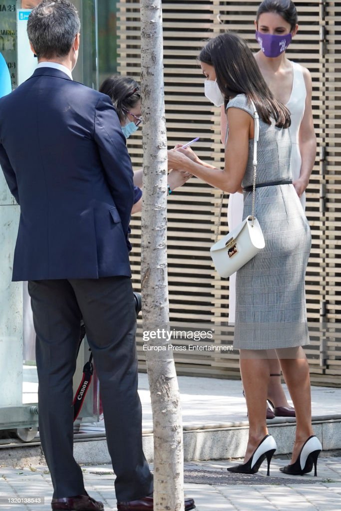 Working Meeting Of Queen Letizia With Fedepe . : News Photo
