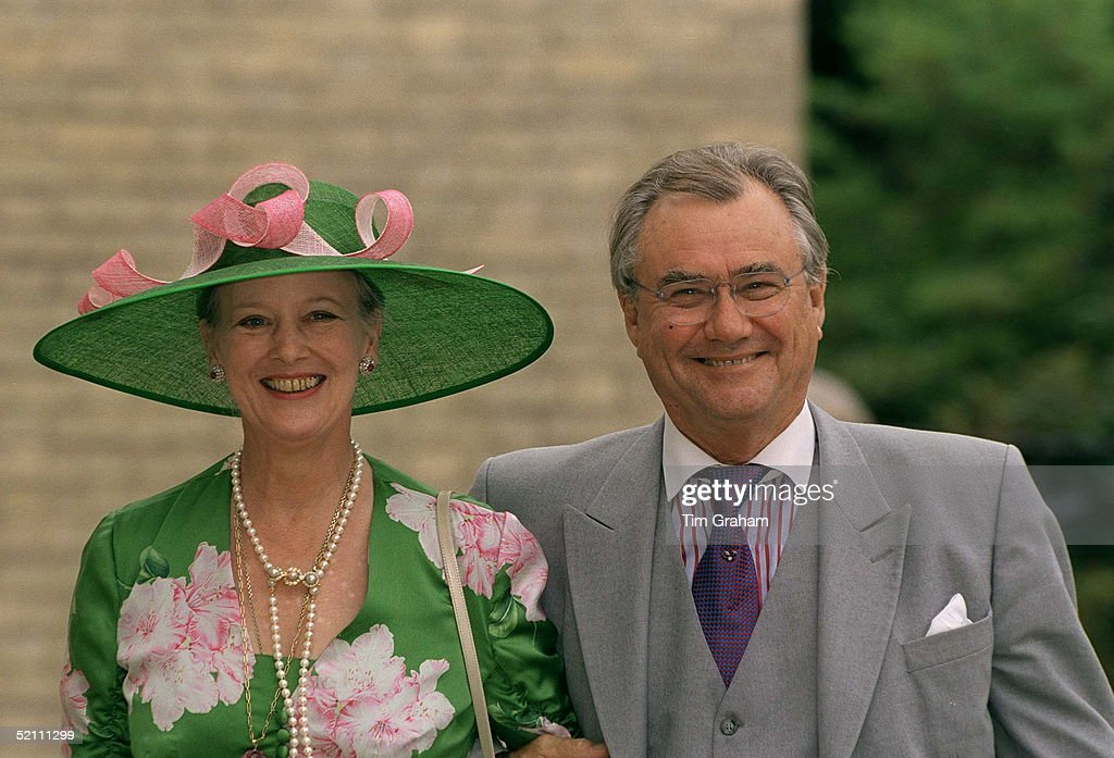 Queen Margrethe And Prince Henrik : News Photo