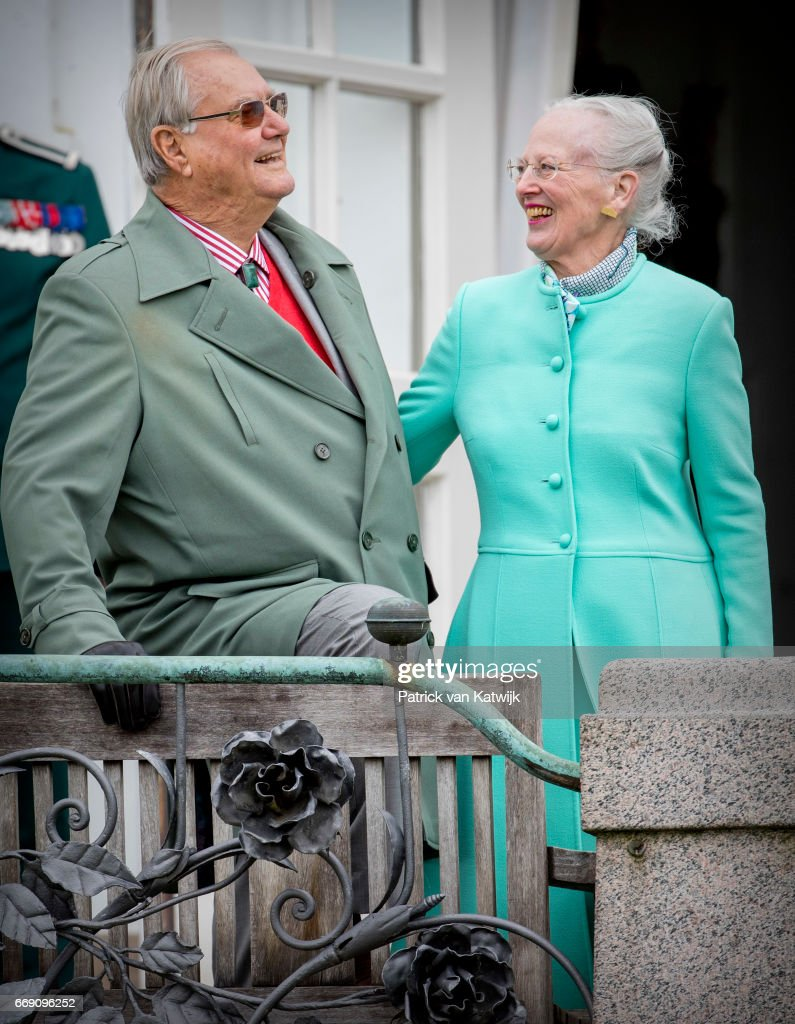 Danish Queen Margrethe Celebrates 77th Birthday : News Photo