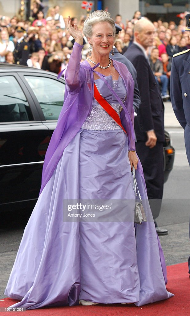 The Wedding Of Crown Prince Haakon Of Norway & Mette-Marit : News Photo
