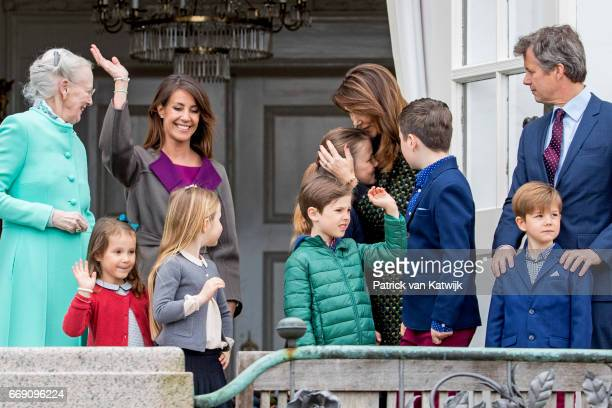 Queen Margrethe Crown Prince Frederik Crown Princess Mary Prince Christian Princess Isabella Prince Vincent Princess Josephine Princess Marie Prince...