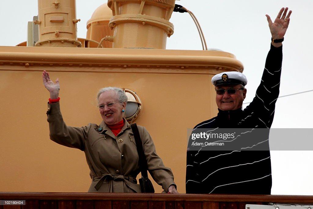 Crown Princess Victoria & Daniel Westling: General Views : News Photo
