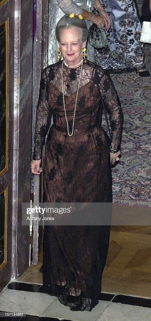 Gala Dinner For The Engagement Of Crown Prince Frederik & Mary Donaldson : News Photo