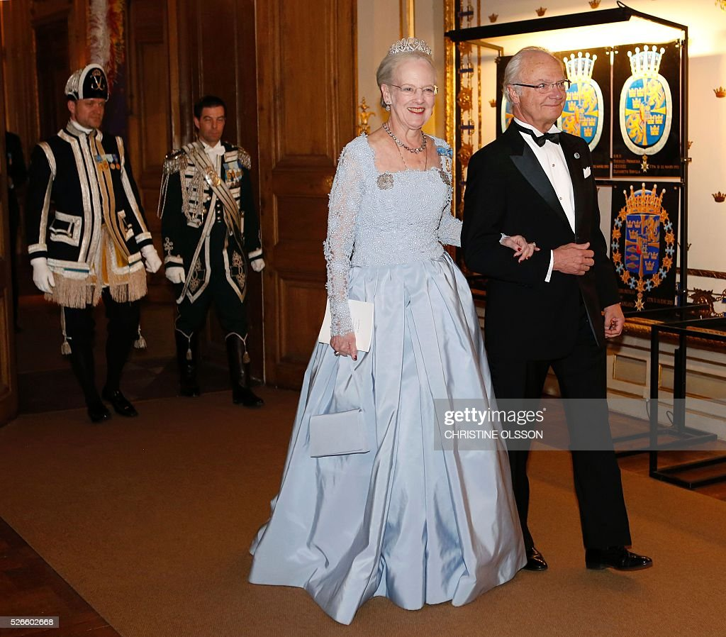 SWEDEN-DENMARK-ROYALS-BIRTHDAY : News Photo