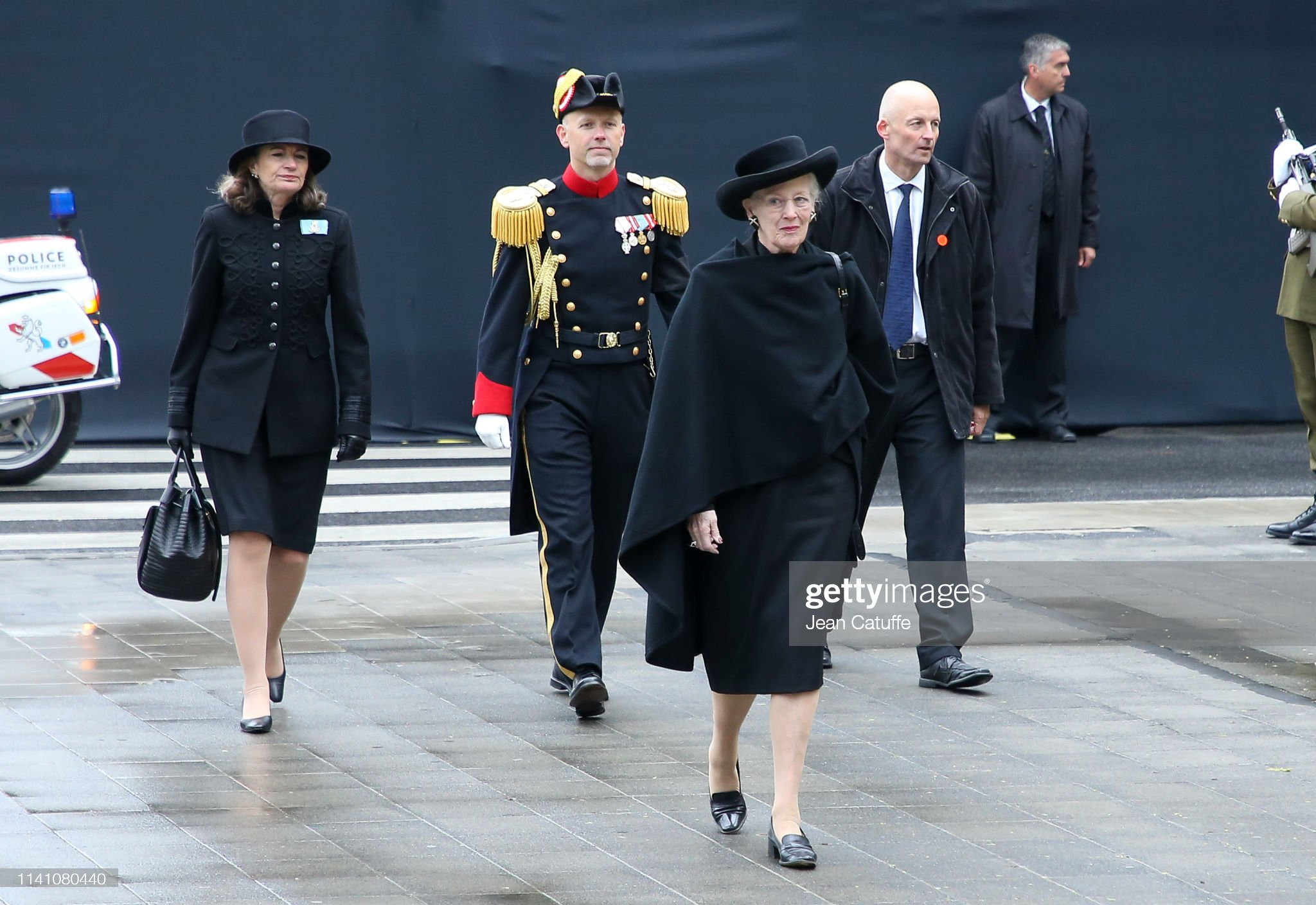 Похороны Великого Герцога Жана https://media.gettyimages.com/photos/queen-margrethe-ii-of-denmark-arrives-for-the-funeral-of-grand-duke-picture-id1141080440?s=2048x2048