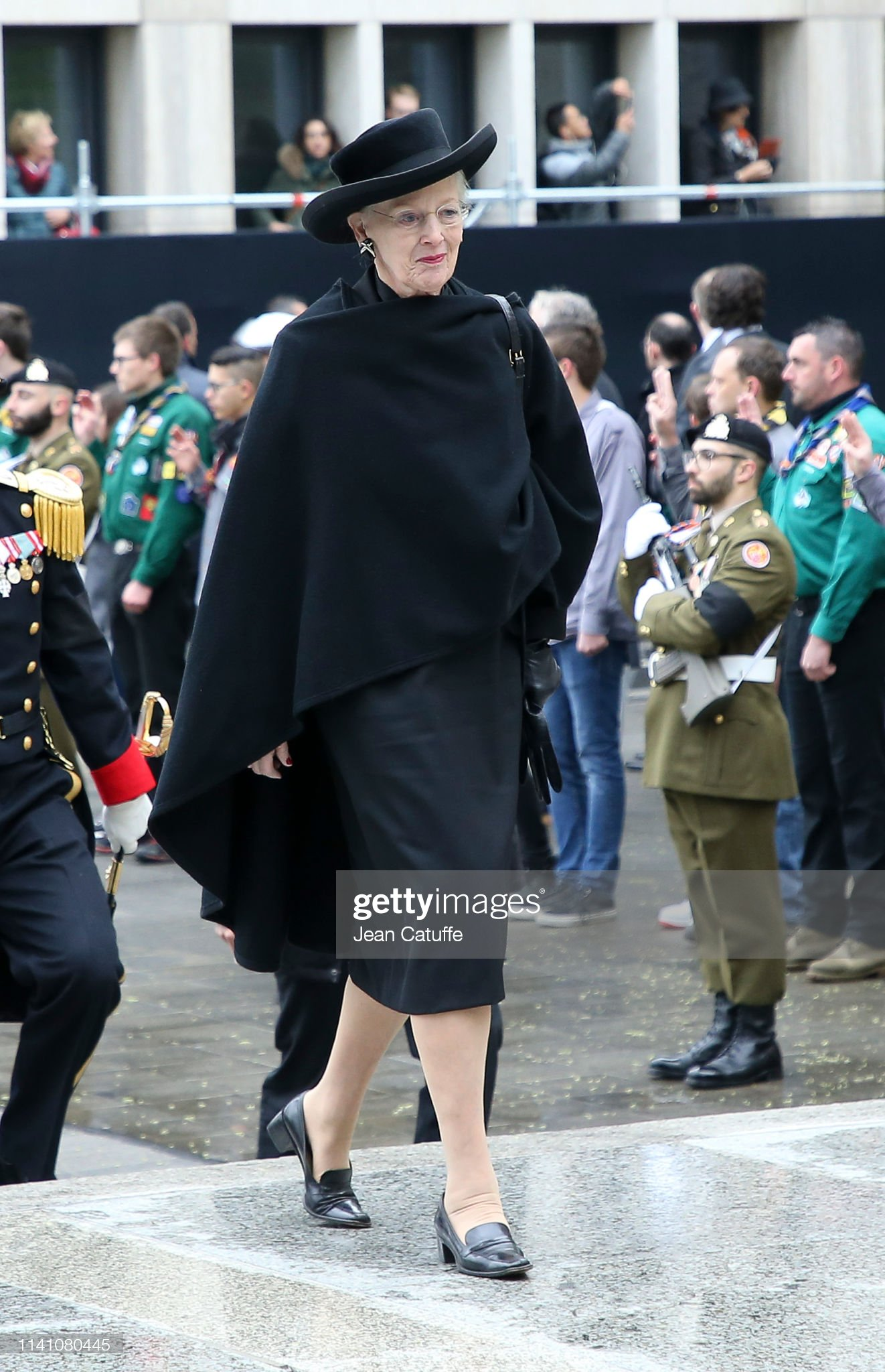 Похороны Великого Герцога Жана https://media.gettyimages.com/photos/queen-margrethe-ii-of-denmark-arrives-for-the-funeral-of-grand-duke-picture-id1141080445?s=2048x2048