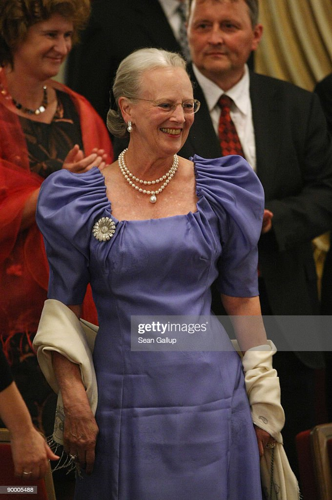 Queen Margrethe II of Denmark Visits Germany : News Photo