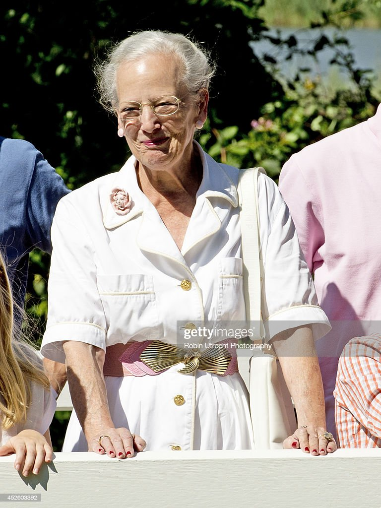 The Danish Royal Family Hold Annual Summer Photocall : News Photo