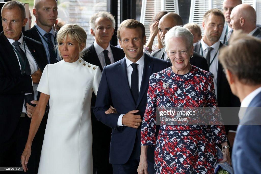 DENMARK-FRANCE-POLITICS-DIPLOMACY : News Photo