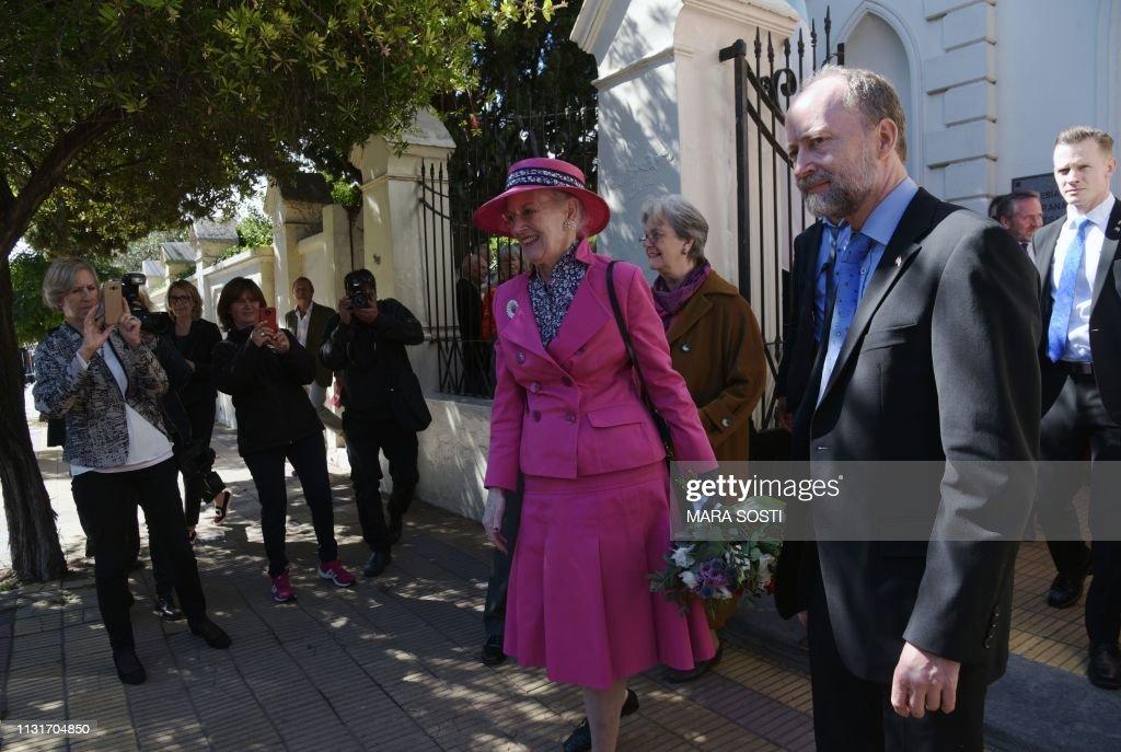 ARGENTINA-DENMARK-ROYALS-QUEEN MARGRETHE II : News Photo