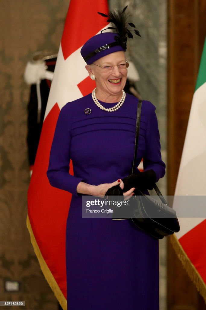 Queen Margrethe Visits Rome - Day 2 : News Photo