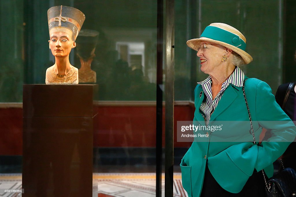 Queen Margrethe II Of Denmark Visits Berlin - Day 2 : News Photo