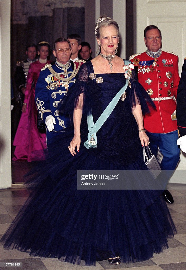 Queen Margrethe Ii Of Denmark'S 60Th Birthday Celebrations : Foto jornalística