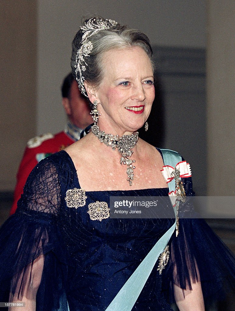 Queen Margrethe Ii Of Denmark'S 60Th Birthday Celebrations In Copenhagen.Gala At Christiansborg Palace.