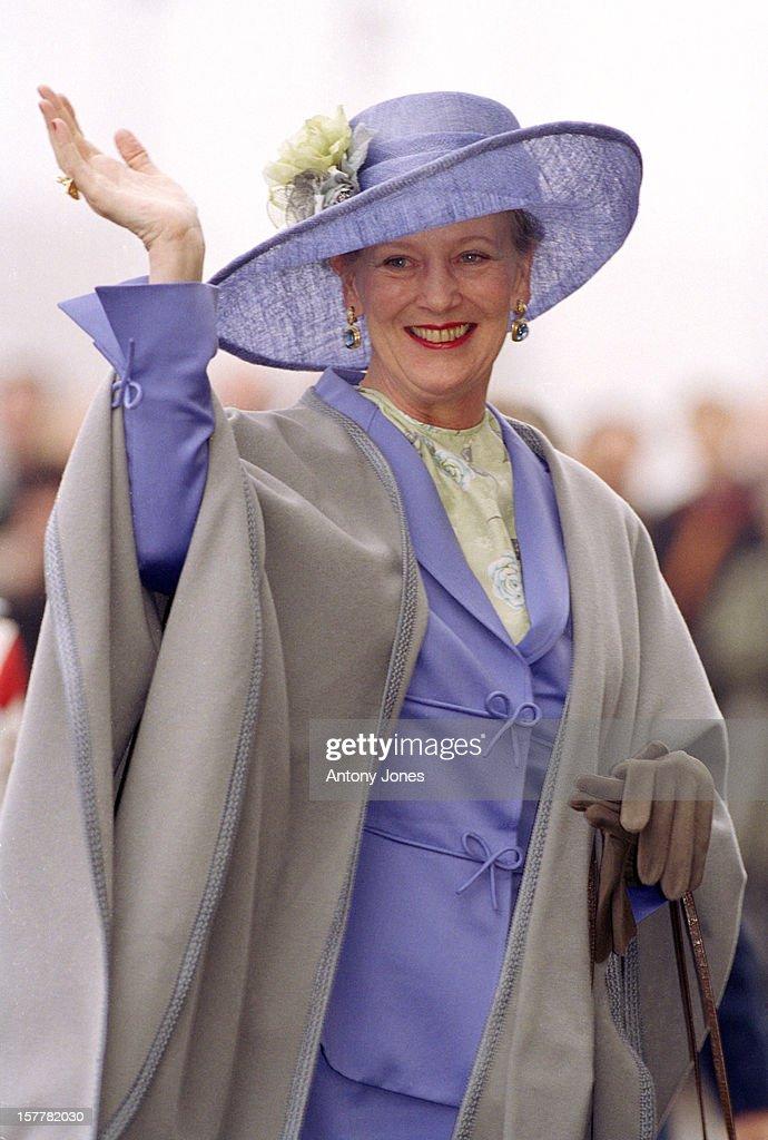 Queen Margrethe Ii Of Denmark'S 60Th Birthday Celebrations : News Photo
