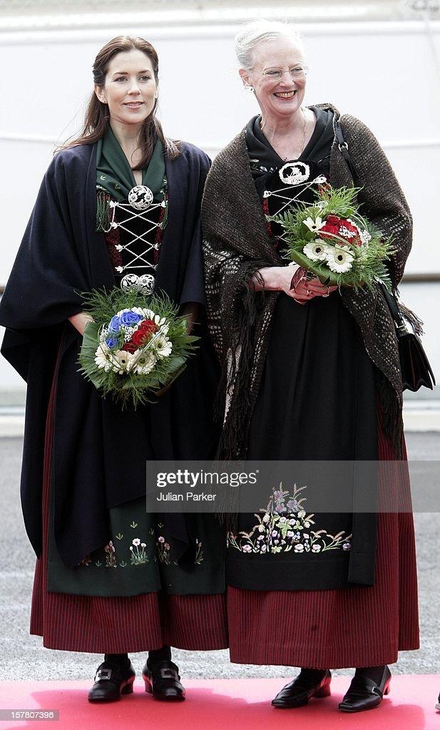 Danish Royal Visit To The Faroe Islands : News Photo