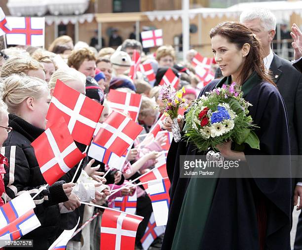 Queen Margrethe Ii Prince Henrik Crown Prince Frederik Crown Princess Mary Of Denmark'S FourDay Visit To The Faroe IslandsVisit To The Island Of...