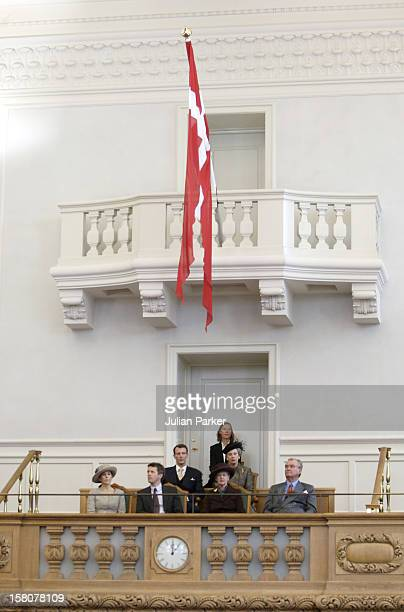 Queen Margrethe Ii Prince Henrik Crown Prince Frederik Crown Princess Mary Prince Joachim And Princess Benedikte Of Denmark Attend The Opening Of The...