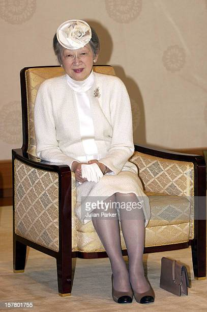 Queen Margrethe Ii Prince Henrik Of Denmark'S State Visit To JapanMeeting With Their Majesties Emperor Akihito Empress Michiko Of Japan In The...