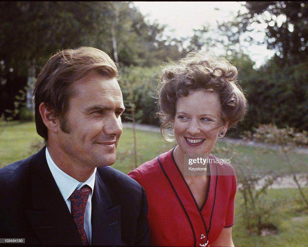Margrethe And Henrik : Nachrichtenfoto